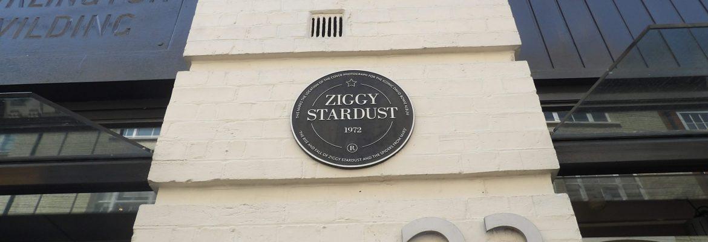 Ziggy Stardust estuvo aquí