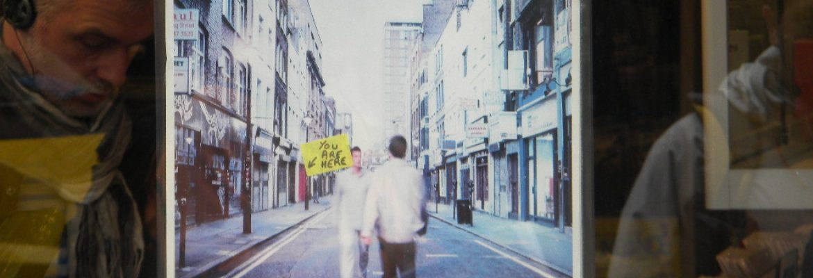 Oasis y la tapa de (What's The Story) Morning Glory?