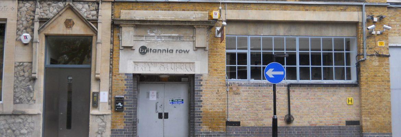 El estudio de Pink Floyd: Britannia Row