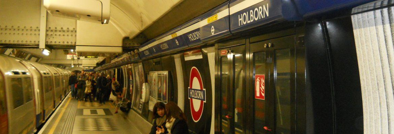 Holborn: estación del Underground